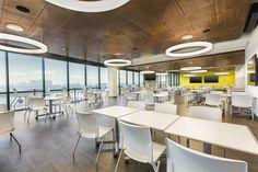 GlowRing™ Pendant - OCL Architectural Lighting Recessed Ceiling, Ceiling Lights, Light Architecture, Conference Room, Lighting, Pendant, Ceilings, Gallery, Interior