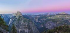 Yosemite Valley. Mosaic of ten photos. [9356x4431][OC]