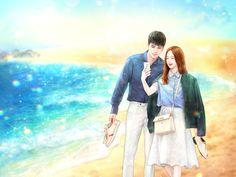 Paar Illustration, Korean Illustration, Couple Illustration, Cute Couple Art, Anime Love Couple, Anime Couples, Cute Couples, Something About 1, Anime Love Story