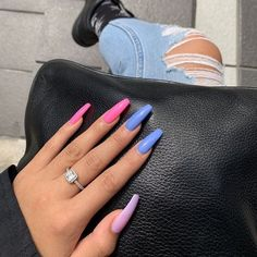 Spring Fever 40 of the Best Spring Nails for 2019 Hashtag Nailart fever Hashtag nailart Nails Spring Summer Acrylic Nails, Best Acrylic Nails, Pastel Nails, Acrylic Nail Designs, Summer Nails, Pink Acrylics, Colorful Nail Designs, Aycrlic Nails, Coffin Nails