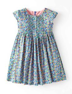 I've+spotted+this+@BodenClothing+Pretty+Pintuck+Dress+Harbour+Blue+Flowerbed