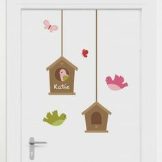 Our Springville wall stickers theme creates a pretty as can be little world for your child's bedroom or nursery. Full of happy little birds, friendly butterflies, flowers, a gorgeous tree and more, you'll be spoilt for choice with these cute wall decals! Wall Decor Stickers, Wall Decals, One Bedroom, Girls Bedroom, You Are The World, Little Birds, Bird Houses, Girl Room, Nursery Decor