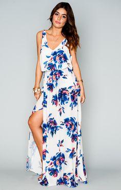 $158 ON MUMU BRIDESMAID DRESS WEBSITE  Kendall Maxi Dress ~ Petal Paint ~ Show Me Your Mumu