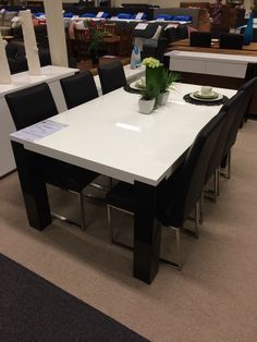 Superior Dining Table From Furniture Bazaar