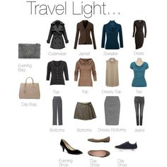 """Travel light"" by silverwild on Polyvore"