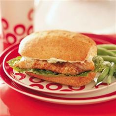 Cajun Catfish Sandwiches Recipe from tasteofhome.com - #IHeartCatfish