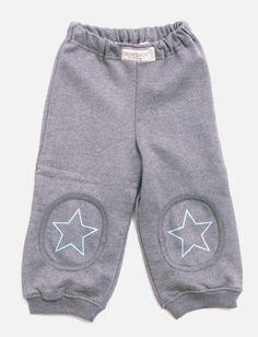 bukse økologisk  grå med stjerne