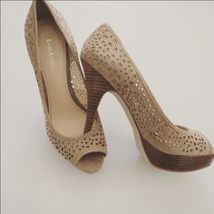 Enzo angiolini heels Worn once! Will be cleaned off before shipped. Enzo Angiolini Shoes Heels