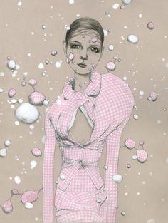 Bijou Karman Fashion Illustrations