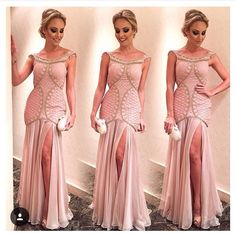 Vestido rosa vintage