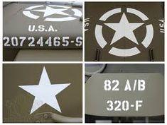 """marquage pochoir SIGNAL CORPS 1/"""" us army ww2  jeep willys ford gpw gmc dodge"""