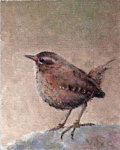 Birds painting by Vitec