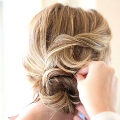 A beautiful chignon is a perfect summer hairstyle: http://www.bhg.com/beauty-fashion/hair/popular-hairstyles-from-pinterest/?socsrc=bhgpin062714chignonpage=3