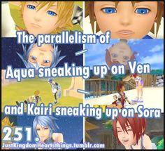Ventus & Aqua, Kairi & Sora