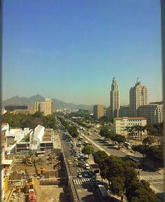 Uma manhã de trabalho no Rio de Janeiro | ... Receitinhas e Viagens ...