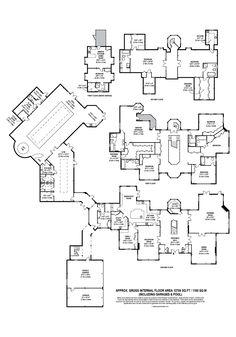 Luxury House Plans, Dream House Plans, House Floor Plans, Modern Villa Design, Modern Architecture Design, Building Plans, Building A House, Underground Shelter, Beautiful House Plans