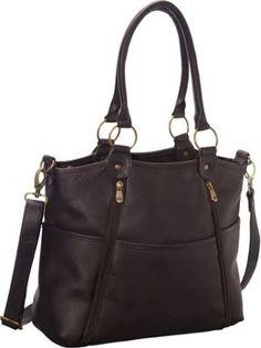 Le Donne Leather Nevington Convertible Satchel Café - via eBags.com!