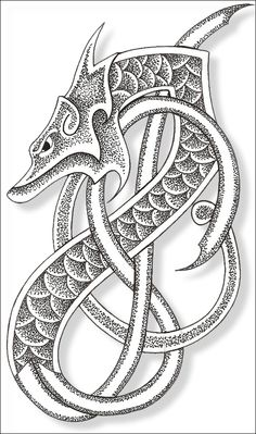 Gallery For gt Viking Dragon Tattoo Meaning