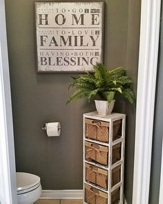 See this Instagram photo by  blessed ranch     1 396 likes   Master     Half bathroom ideas   Want a half bathroom that will impress your guests  when entertaining  Update your bathroom decor in no time with these  affordable