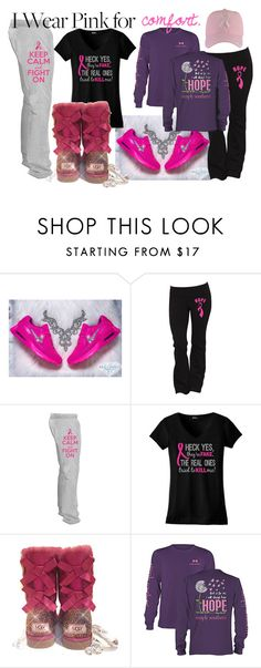 """""""Pink Comfort"""" by graybelle86 ❤ liked on Polyvore featuring IWearPinkFor"""