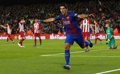 Barcelona vs Atletico Madrid highlights: Suarez sent off after scoring as 9-man Barca enter Copa Del Rey final
