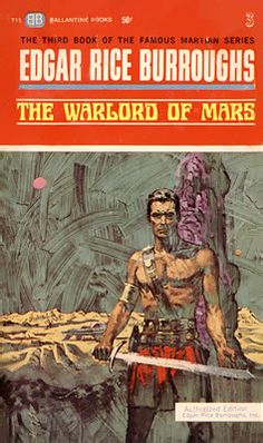 """The """"Warlord of Mars"""" was written by Edgar Rice Burroughs in 1918 and is the third book in his """"Barsoom"""" series.  Set on the planet Mars, Captain John Carter is mysteriously transported to the Mars where he encounters a multiracial civilization embroiled in conflict and conquest."""