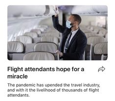 Flight attendants hope for a miracle | LinkedIn