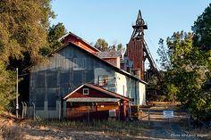 Historic Argonaut Mine overlooking Jackson, Ca.