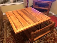 Lift top coffee table Do It Yourself Home Projects from Ana