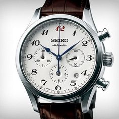 The Presage #SRQ019 Automatic Chronograph, LE of 1,000 pieces. One of the only places in the USA you can get it? The new Seiko Miami Boutique.