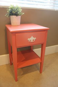 for top of white ikea kitchen island, add some diy coasters to protect top Color (Coral Isle/Krylon) Diy Barbie Furniture, Furniture Projects, Furniture Makeover, Home Furniture, Furniture Websites, Art Projects, Repurposed Furniture, Painted Furniture, Vintage Furniture