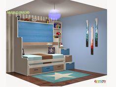 Muebles Juveniles | Dormitorios Infantiles y Habitaciones Juveniles en Madrid: Dormitorios Juveniles en 3D Proyectos hechos a medida |Muebles Juveniles en Madrid