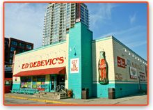 Ed Debevics l Famous Since 1945 Chicago