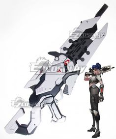 Costumes & Accessories Costume Props Nice Ow Widowmaker Amlie Lacroix Assassin Weapon Gun Cosplay Prop Skilful Manufacture