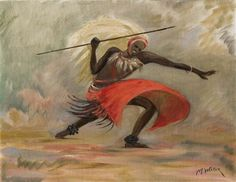 Guerrier tutsis par Marthe Molitor