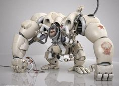 Mech Monkey, eventually it WILL happen... be afraid