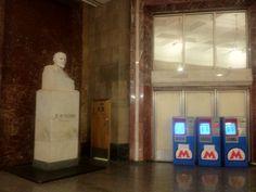 Left of the metro