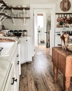 """971 Likes, 54 Comments - vintage home love (@dianagray5) on Instagram: """"Never thought I would love new floors so much ❤️"""""""