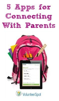 TTS~5 Apps for Connecting With Parents For more ideas http://pinterest.com/Sarahtwinchell/technology-in-the-classroom/