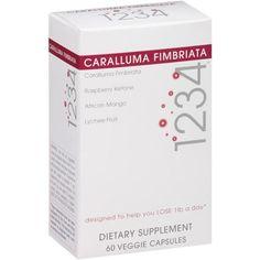 Creative Bioscience Caralluma Fimbriata 1234 Veggie Capsules Dietary Supplement, 60 count