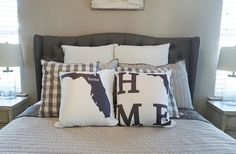 Cute State Pillow Covers With Included Pillow Only $24.99!