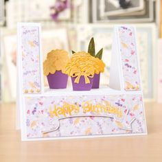 Tattered lace Stage Card Die (381720)   Create and Craft