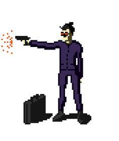Diversas ilustrações em estilo pixel art.Assorted pixel art illustrations.