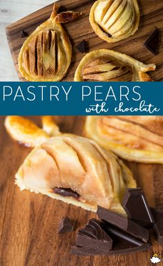 Puff Pastry Pears With Chocolate