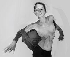ArtStation - fashion illustration, Mahdieh Farhadkiaei