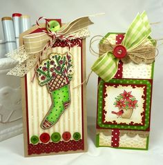 CC434 Christmas Tags by BeckyTE - Cards and Paper Crafts at Splitcoaststampers
