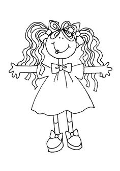 Image detail for -Lil Girl | Dearie Dolls Digi Stamps