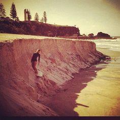 Riding the dune tube. #insta