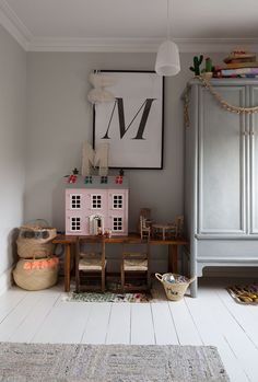 Child's bedroom - Lisa Mehedyne's home - featured in S/S 17 issue of 91 Magazine. Photo: Cathy Pyle