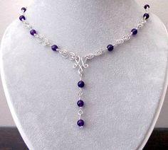 NEC182_gemstone_necklace 65 Fabulous & Stunning Handmade Beaded Gemstone Jewelries